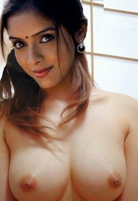 Asin Nude Bathing Showing Boobs and Nipples